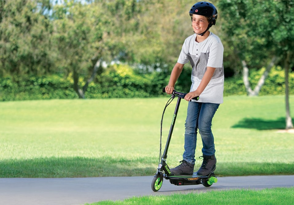 Boys Electric Scooters Kids