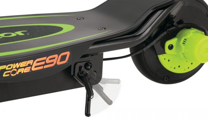 Razor Power Core E90 Green Electric Scooter Kids 1