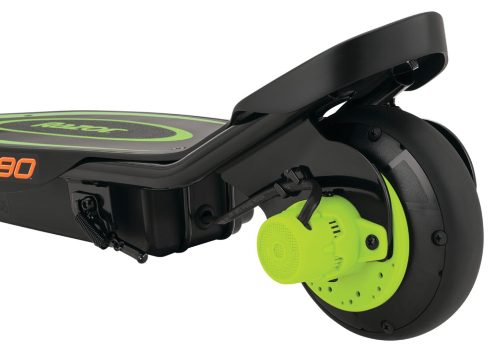 Razor Power Core E90 Green Electric Scooter Kids 3