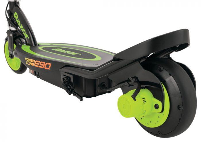 Razor Power Core E90 Green Electric Scooter Kids 4