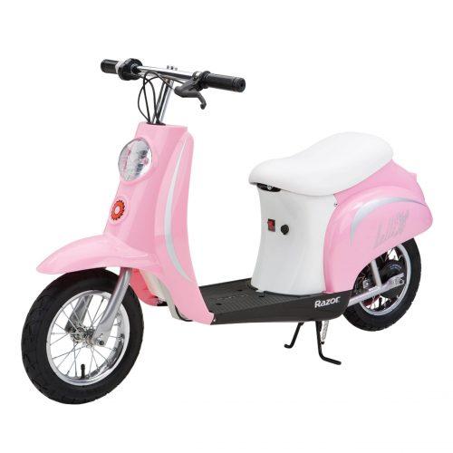 Razor Pocket Mod Scooter Bella Pink 24 Volt Main